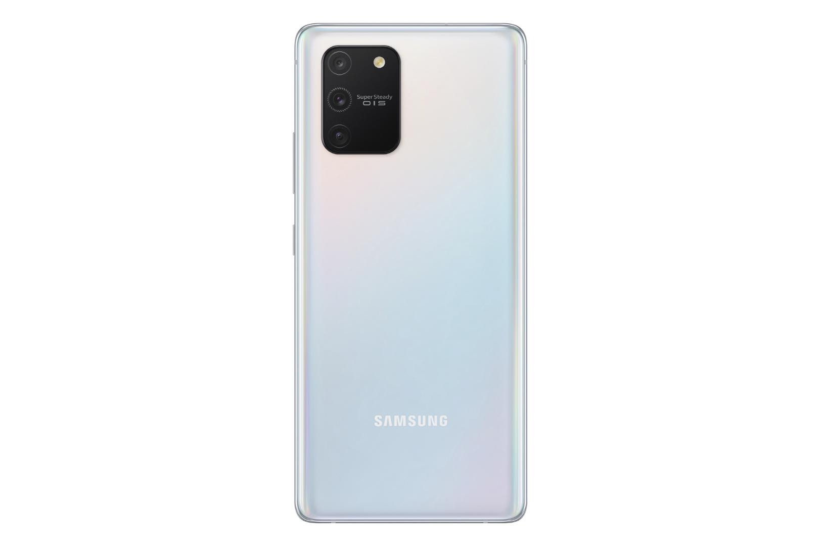 Kamera des Galaxy S10 Lite in Prism White
