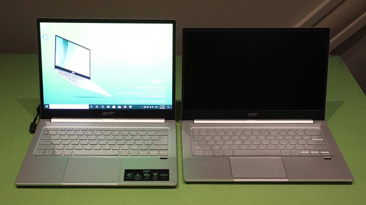 Acer Swift 3: Mit Intel Ice Lake oder AMD Renoir ab 999 / 699 Euro