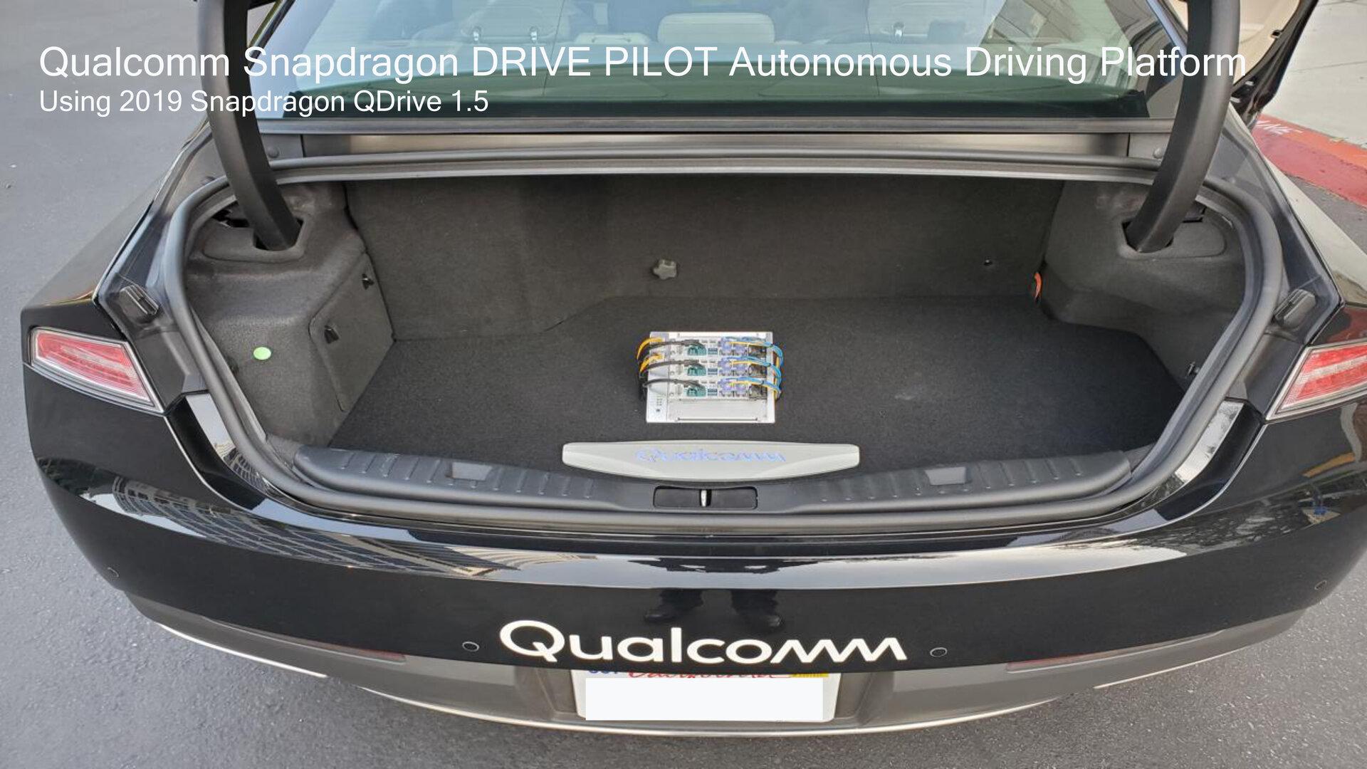 Der Snapdragon Drive Pilot soll besonders kompakt sein