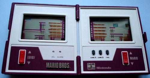 Game & Watch mit Mario Bros.