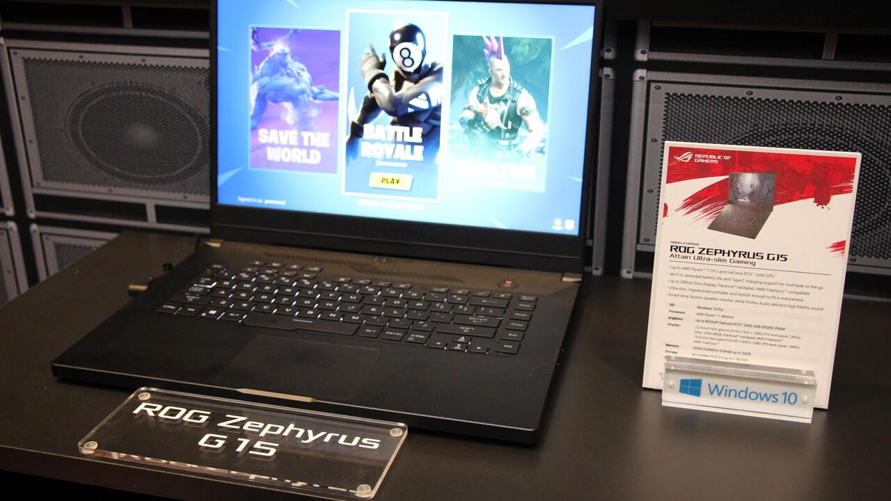 AMD Renoir bei Asus: Gaming-Notebooks mit speziellem Ryzen 7 4800HS