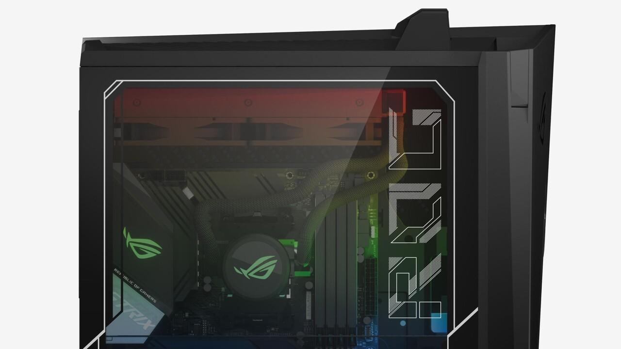 Asus ROG Strix Gx15/Gx35: Gaming-PCs mit Ryzen, Comet Lake-S und GeForce RTX