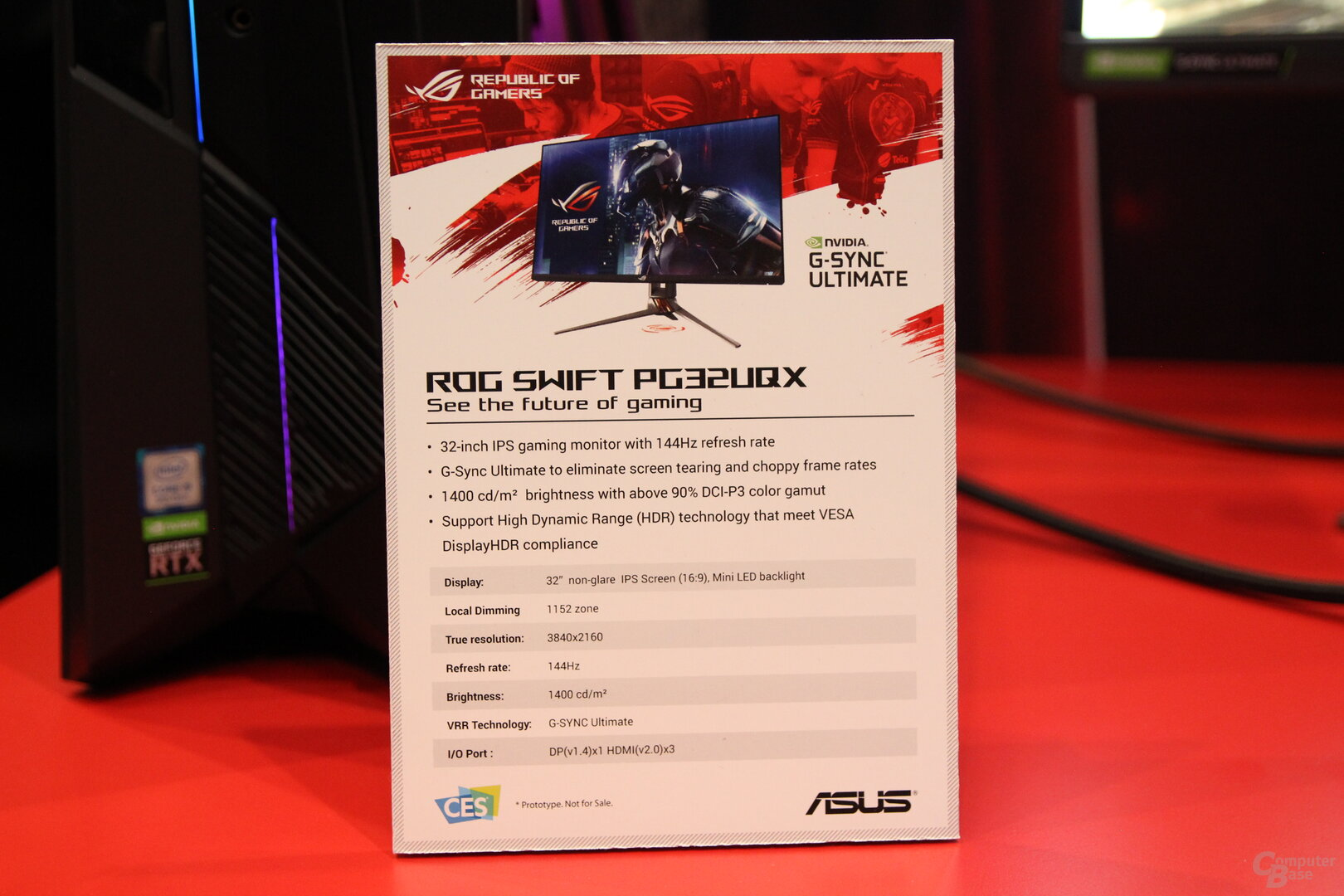 Asus ROG Swift PG32UQX