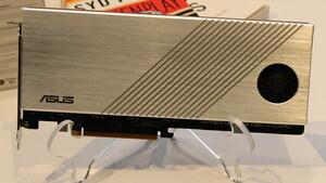 Hyper M.2 PCIe 4.0 Card: Asus-Adapter für vier PCIe-4.0-SSDs im RAID ohne Zügel