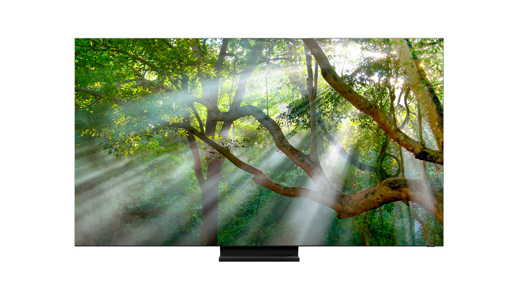 Samsung Q950TS 8K-QLED-TV mit 99 Prozent Screen-to-Body-Ratio