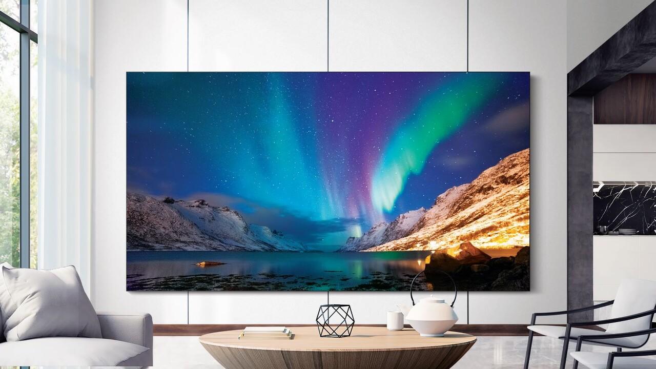 Samsung: MicroLED-Panels, 8K-QLED- und Lifestyle-TVs zur CES
