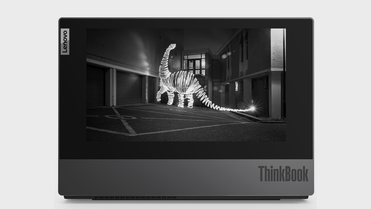 Lenovo ThinkBook Plus: Das Notebook mit dem E-Ink-Display auf dem Deckel