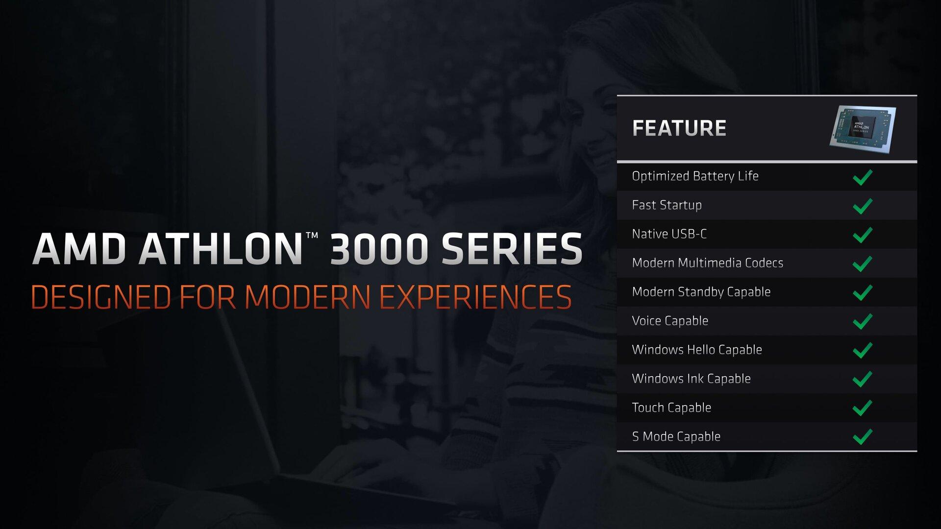 AMD Athlon 3000U: Spezifikationen im Überblick