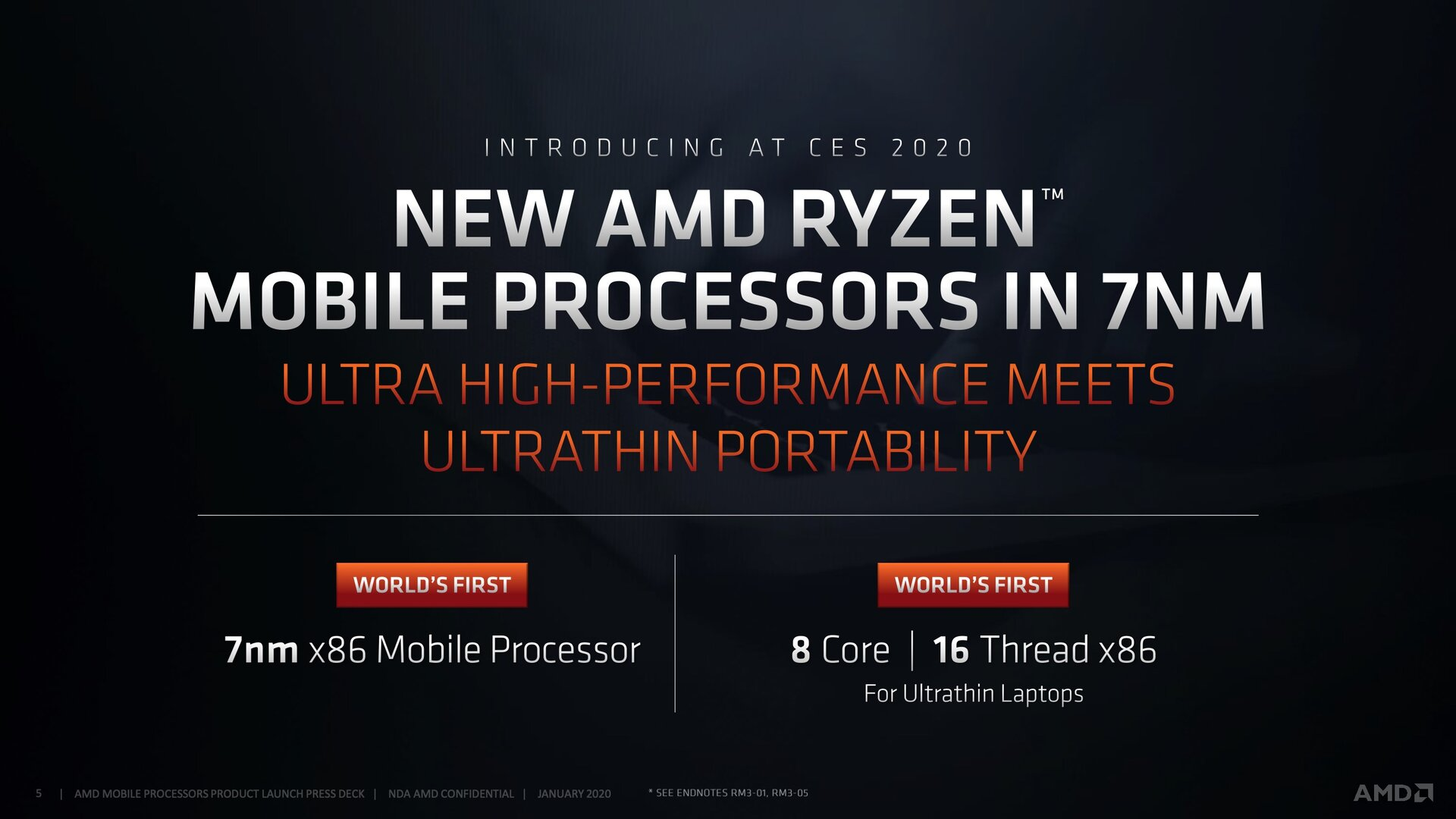 AMD Ryzen 4000U/H mit setzen auf Renoir in 7 nm