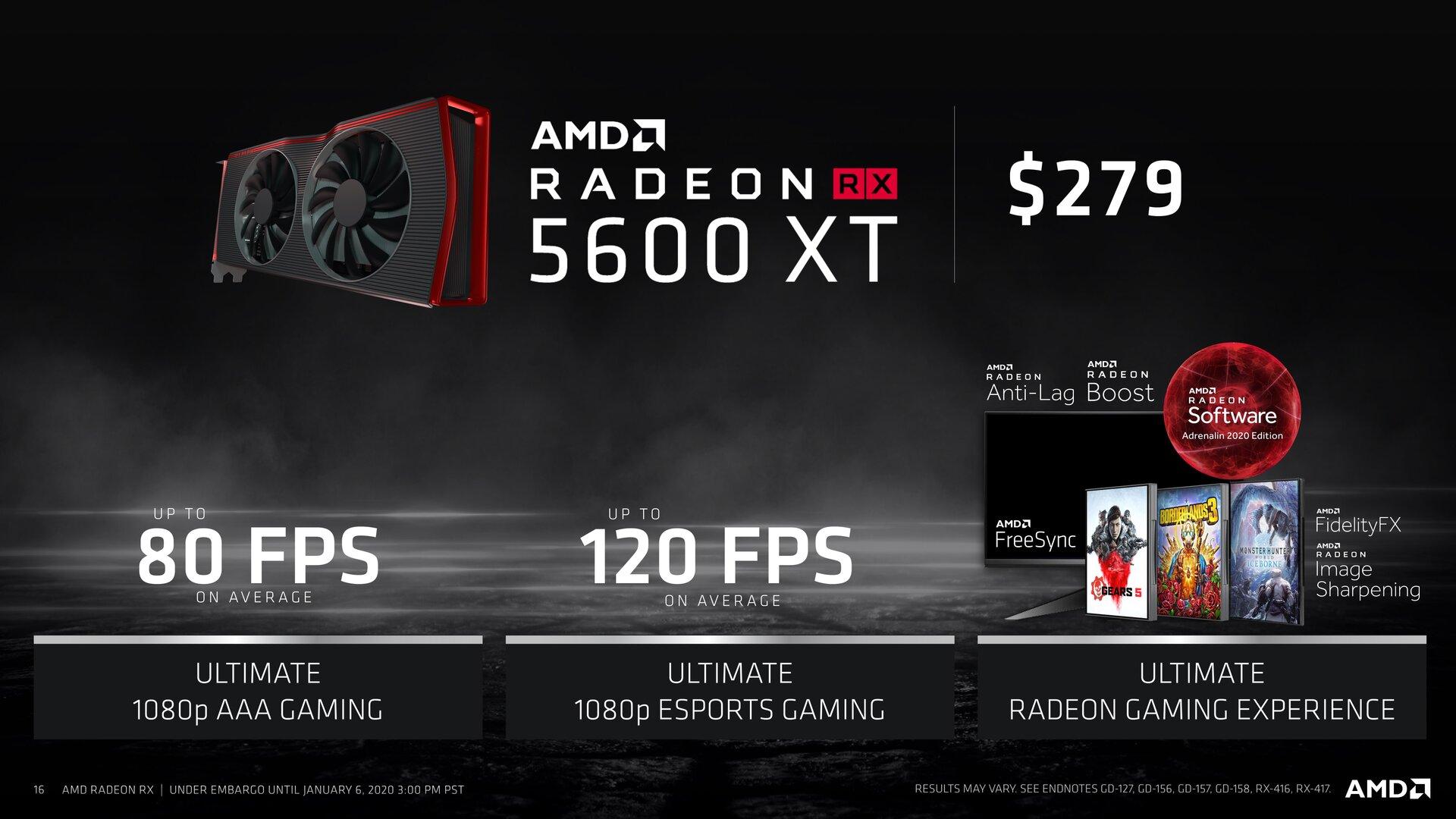 Die neue AMD Radeon RX 5600 XT mit Navi 10