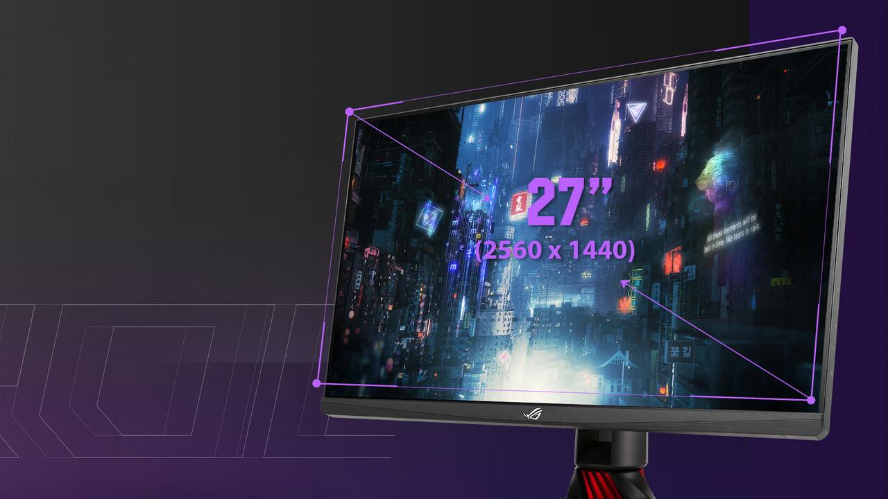 Asus ROG Strix XG279Q: WQHD-Monitor mit 170 Hz, 1-ms-IPS und ELMB-Sync