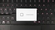 Portable SSD T7 Touch im Test: Samsungs USB-SSD setzt auf 1 GB/s und Fingerabdrücke