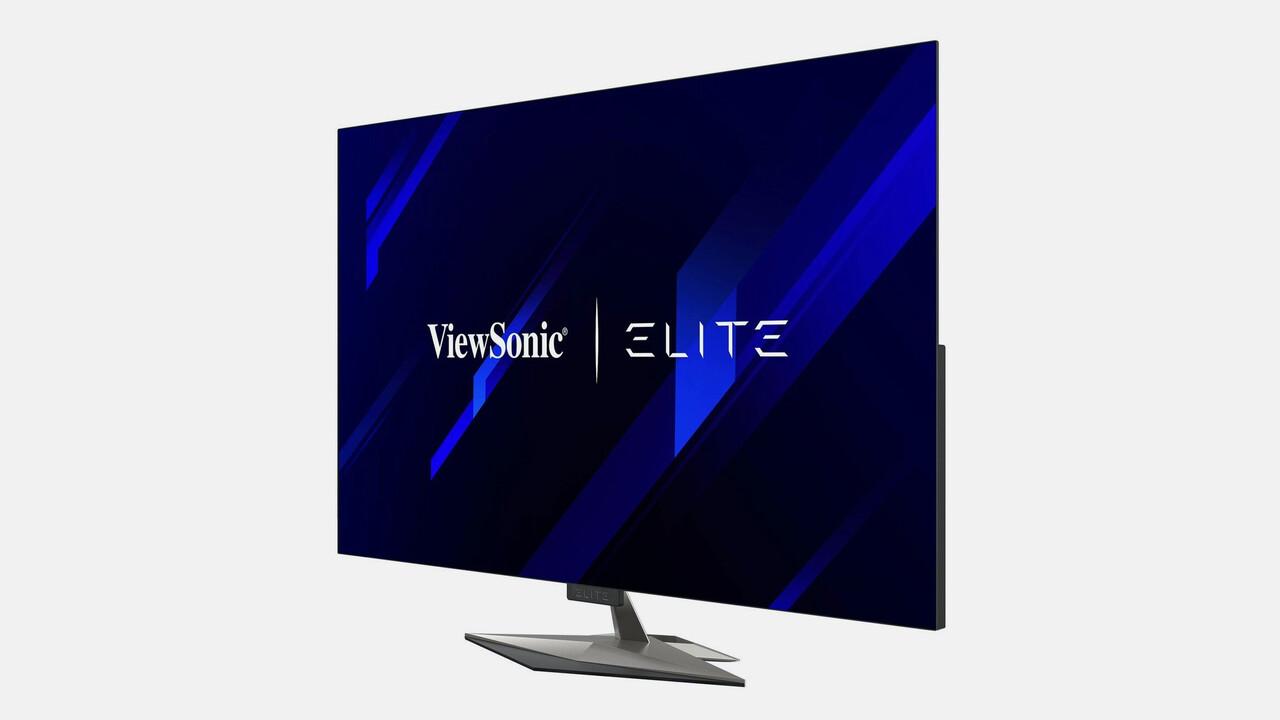 ViewSonic XG550: OLED-UHD-Monitor mit 55 Zoll, 120 Hz, 0,5 ms und RGB