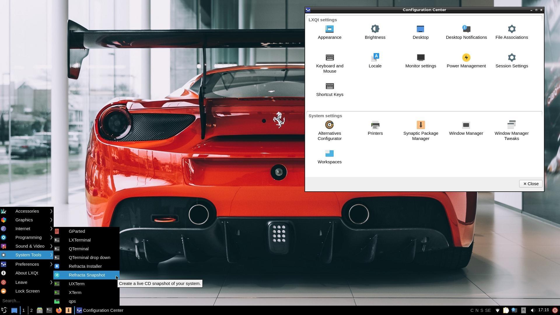ExTiX 20.4 mit neuem LXQt-Desktop