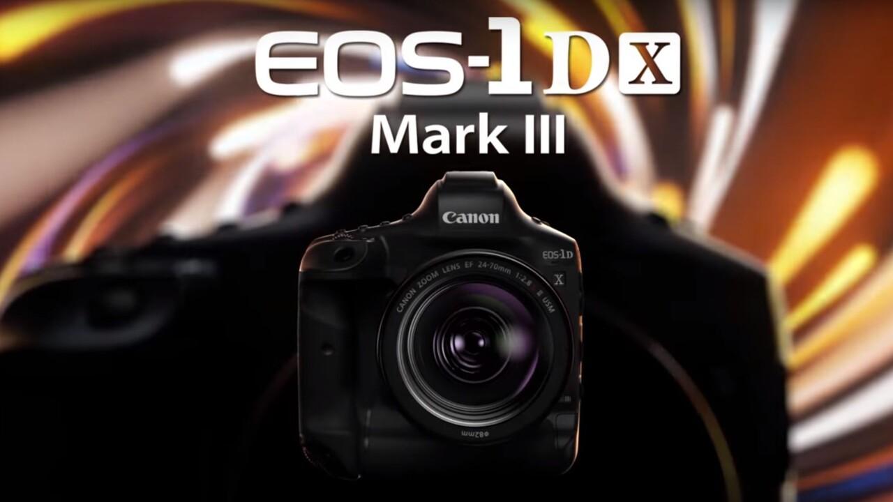 Canon 1D X Mark III: Flaggschiff mit CFexpress, hohem ISO und hoher Bildrate