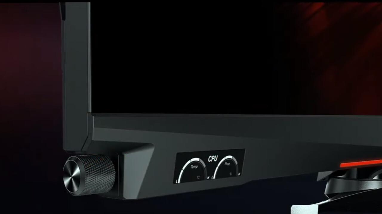 MSI Optix MEG381CQR: 24:10-Gaming-Monitor mit OLED-Zusatzdisplay