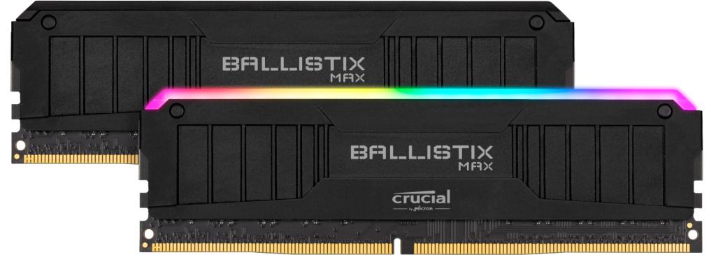 Crucial Ballistix MAX mit und ohne RGB und bis zu DDR4-4400