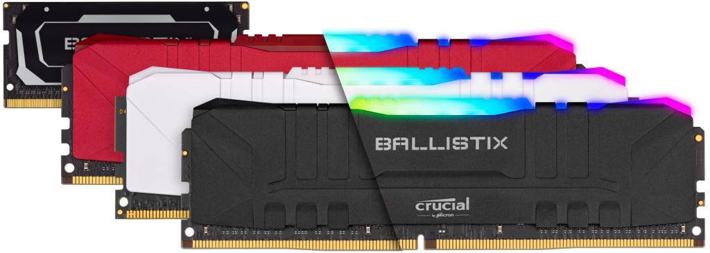 Ballistix und Ballistix MAX: Neue Crucial-Kits mit bis zu 4.400 MT/s gelistet
