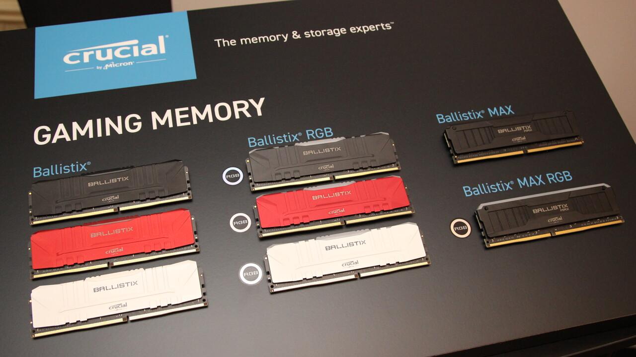 Crucial: Ballistix und Ballistix MAX lösen alte RAM-Serien ab
