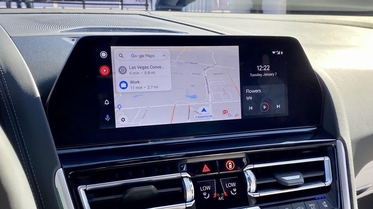 BMW: Android Auto wird ein kostenloses OTA-Update
