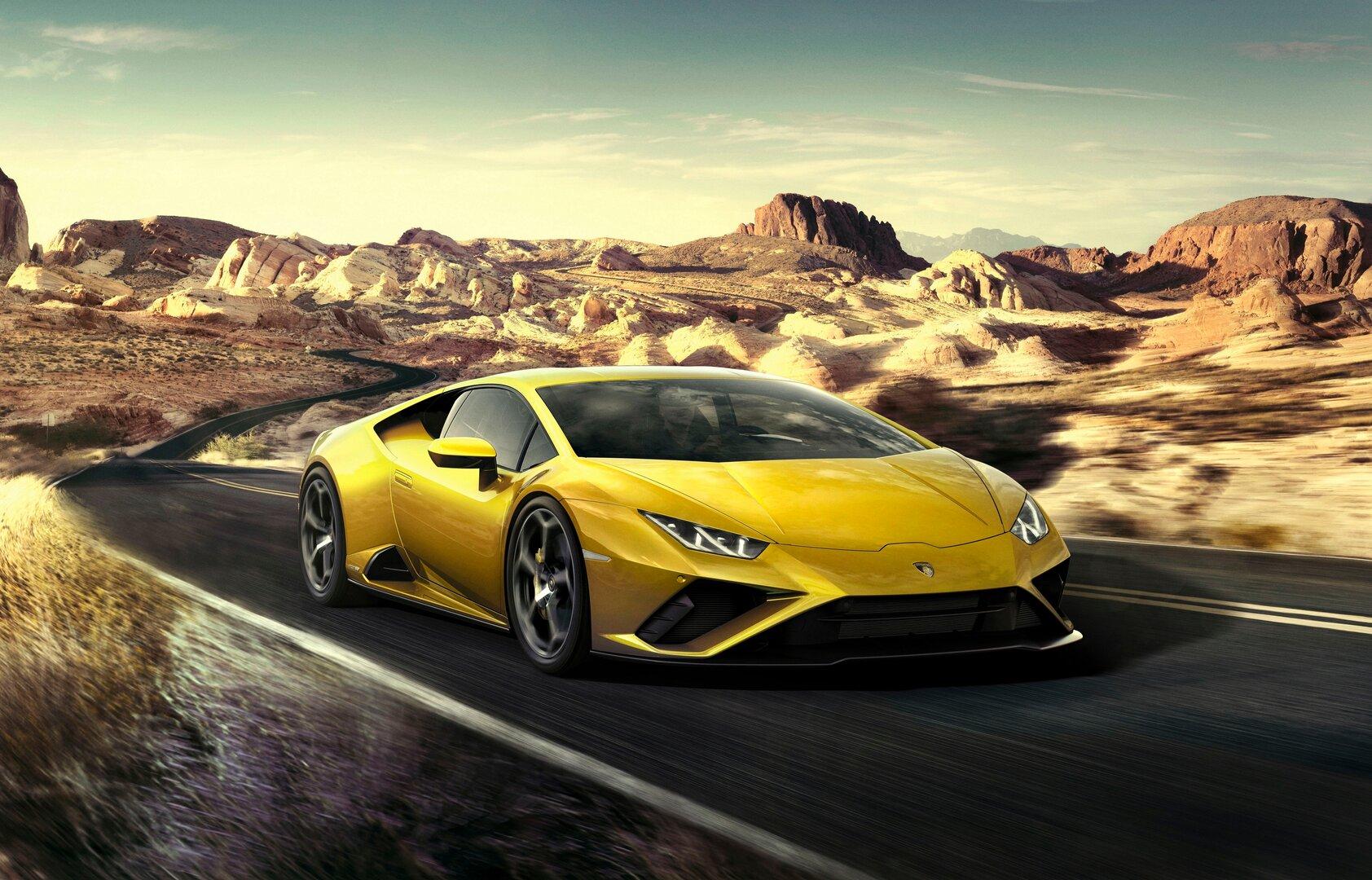 Lamborghini Huracán EVO mit Amazon Alexa