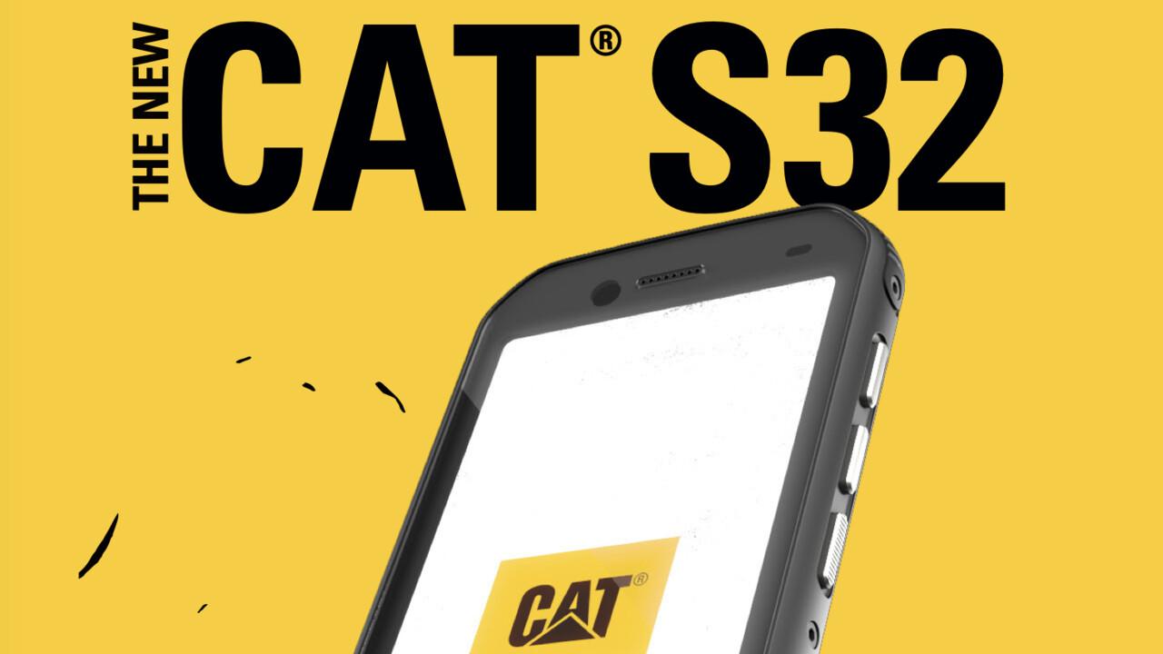 Cat S32: IP68-Outdoor-Smartphone mit MIL-STD-810G für 299 Euro