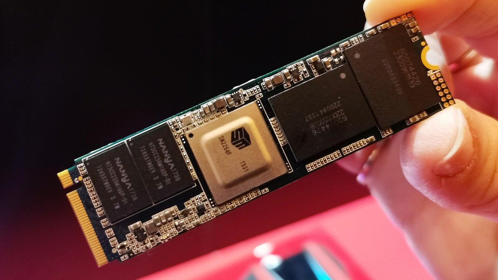 Prototyp Adata XPG Indigo SSD