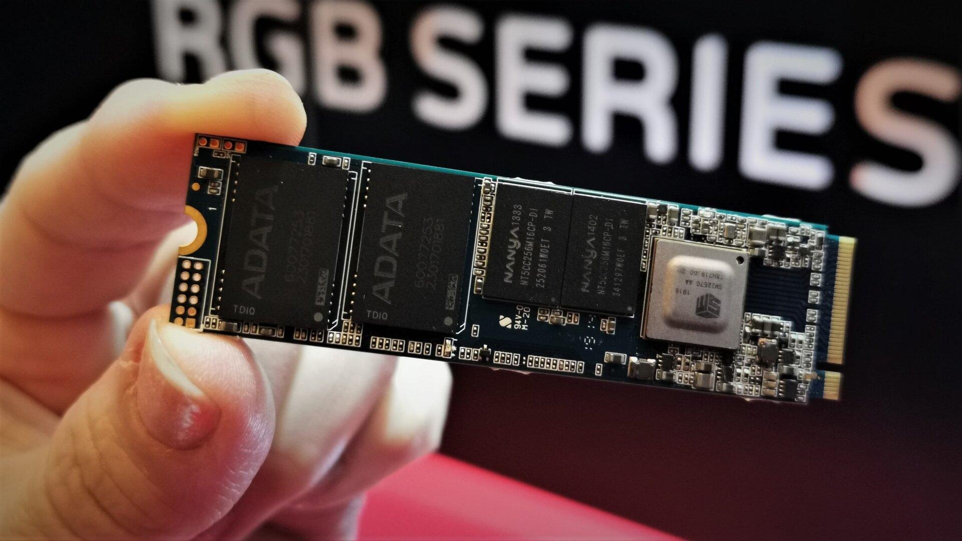 Prototyp Adata XPG Pearl SSD
