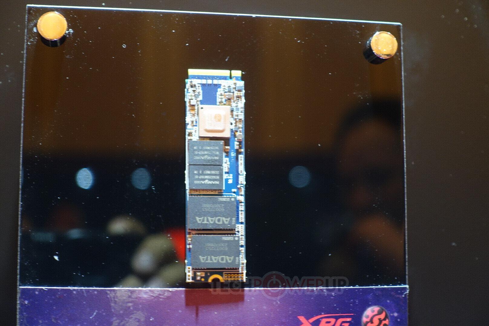 Adata-Prototyp-SSD mit PCIe 4: XPG Pearl