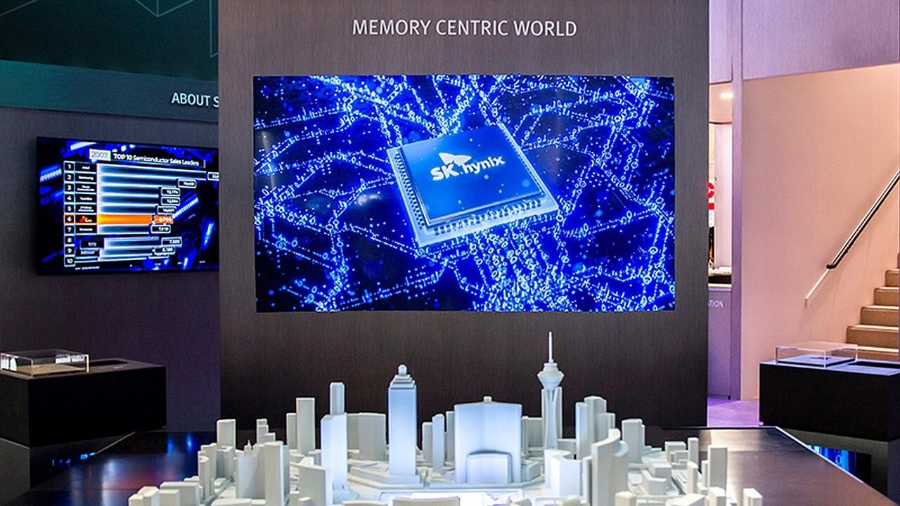 SK Hynix auf der CES: NVMe-SSDs mit 128-Layer-NAND sowie DDR5 gezeigt