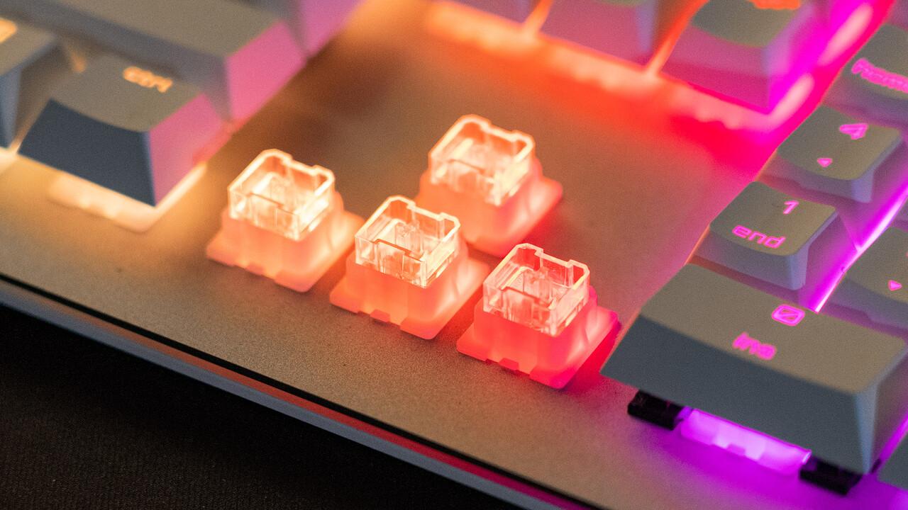 Neue mechanische Taster: Cherrys Viola für Tastaturen unter 100 Euro