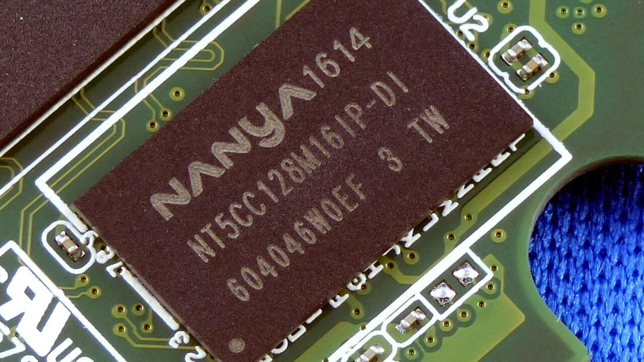 Speicherchips in 1x nm: Nanya rückt in die DRAM-Oberklasse vor