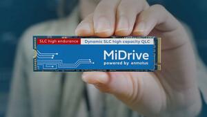 Enmotus MiDrive: SSD nutzt primär SLC- und sekundär QLC-Speicher