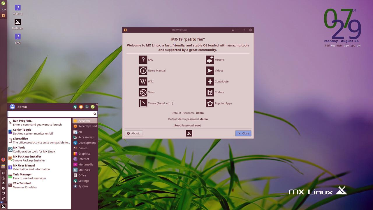 MX Linux 19: Beliebter Klassenprimus mit eigenen Anwendungen