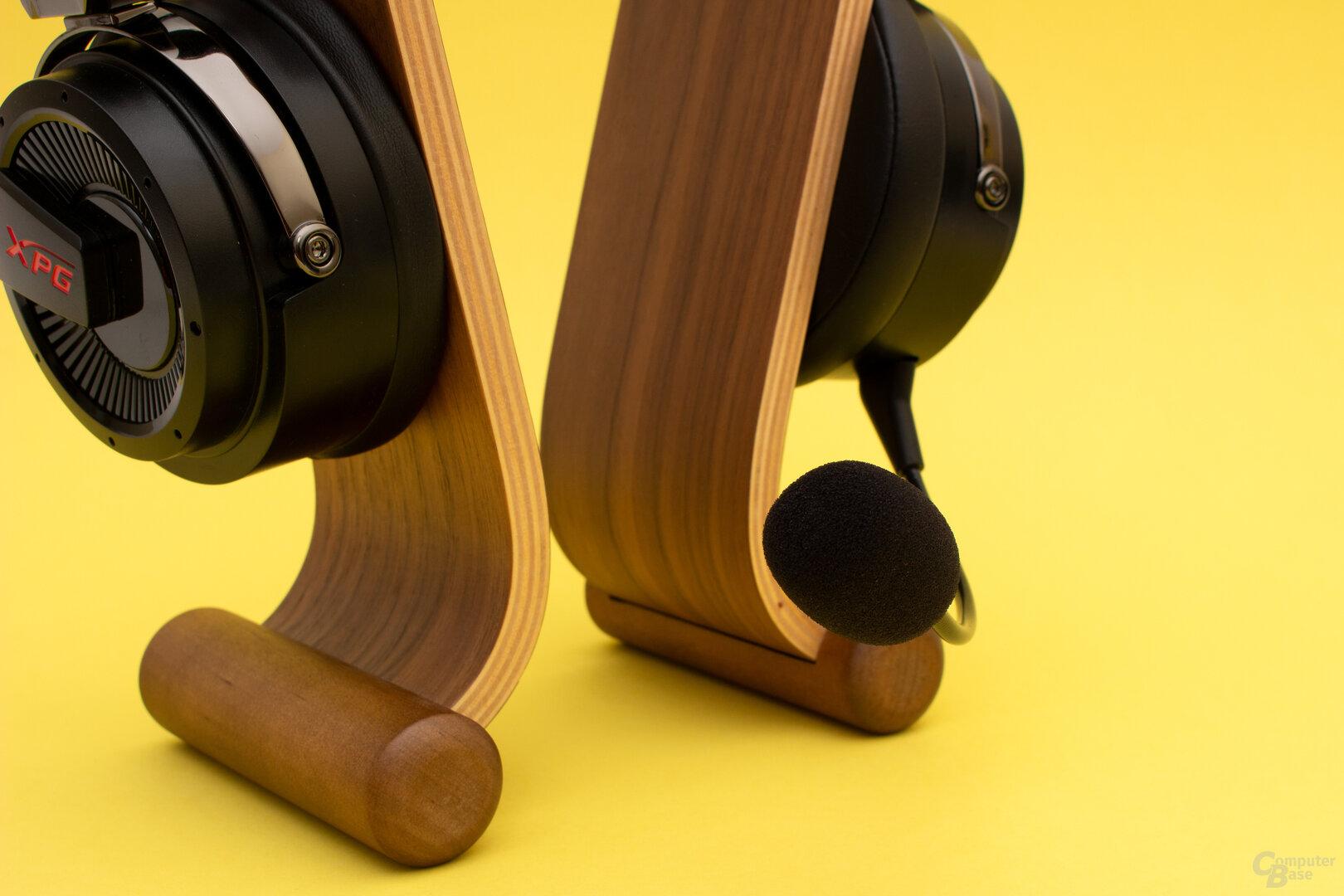 Das Mikrofon beim Precog liefert einen guten Klang, aber auch Störgeräusche