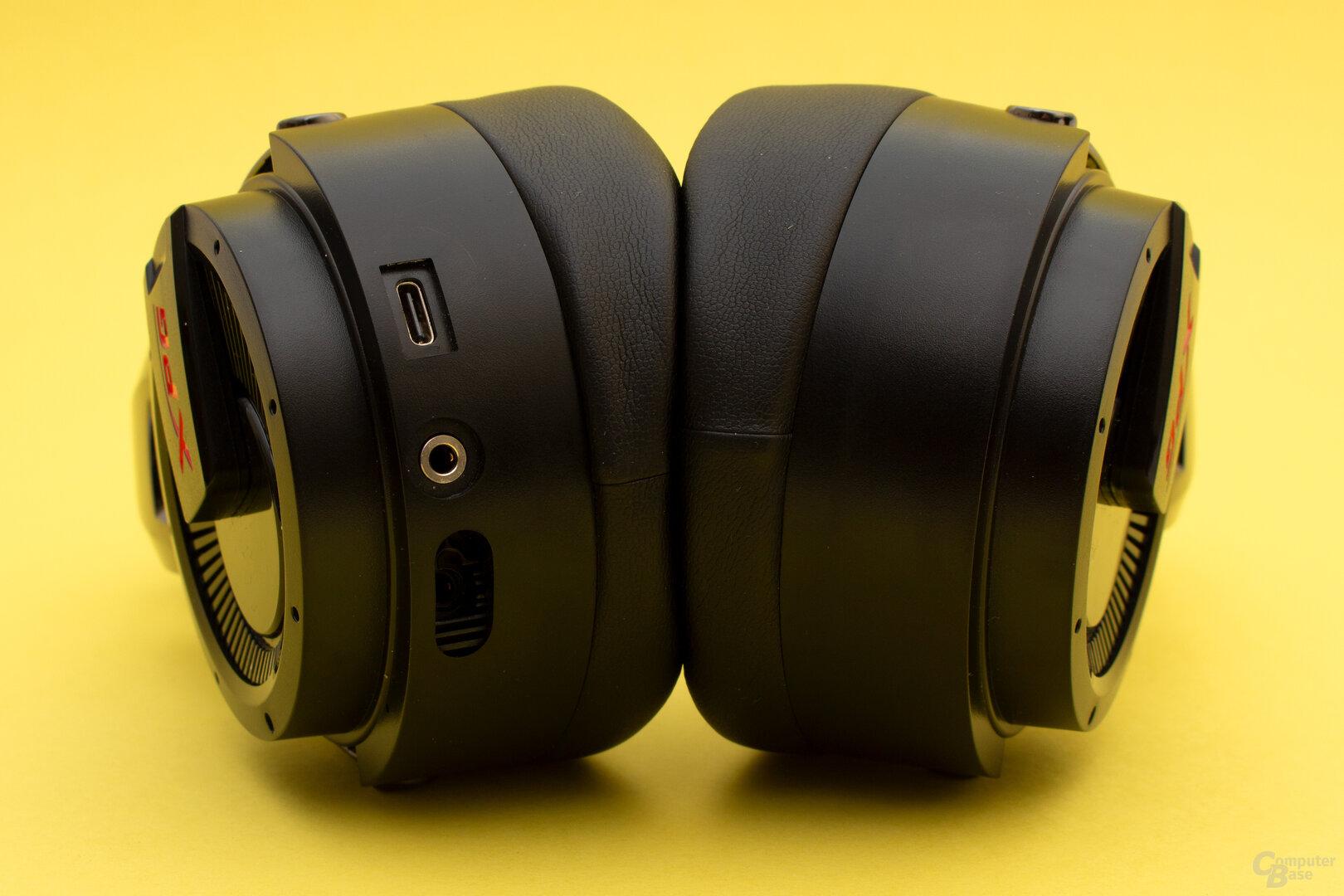 Das Headset selbst bietet keine Bedienelemente