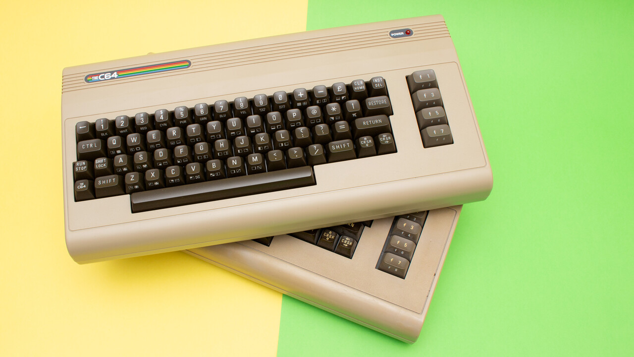 Retro Games TheC64 im Test: Große Version mit Tastatur sorgt für Retrogefühl