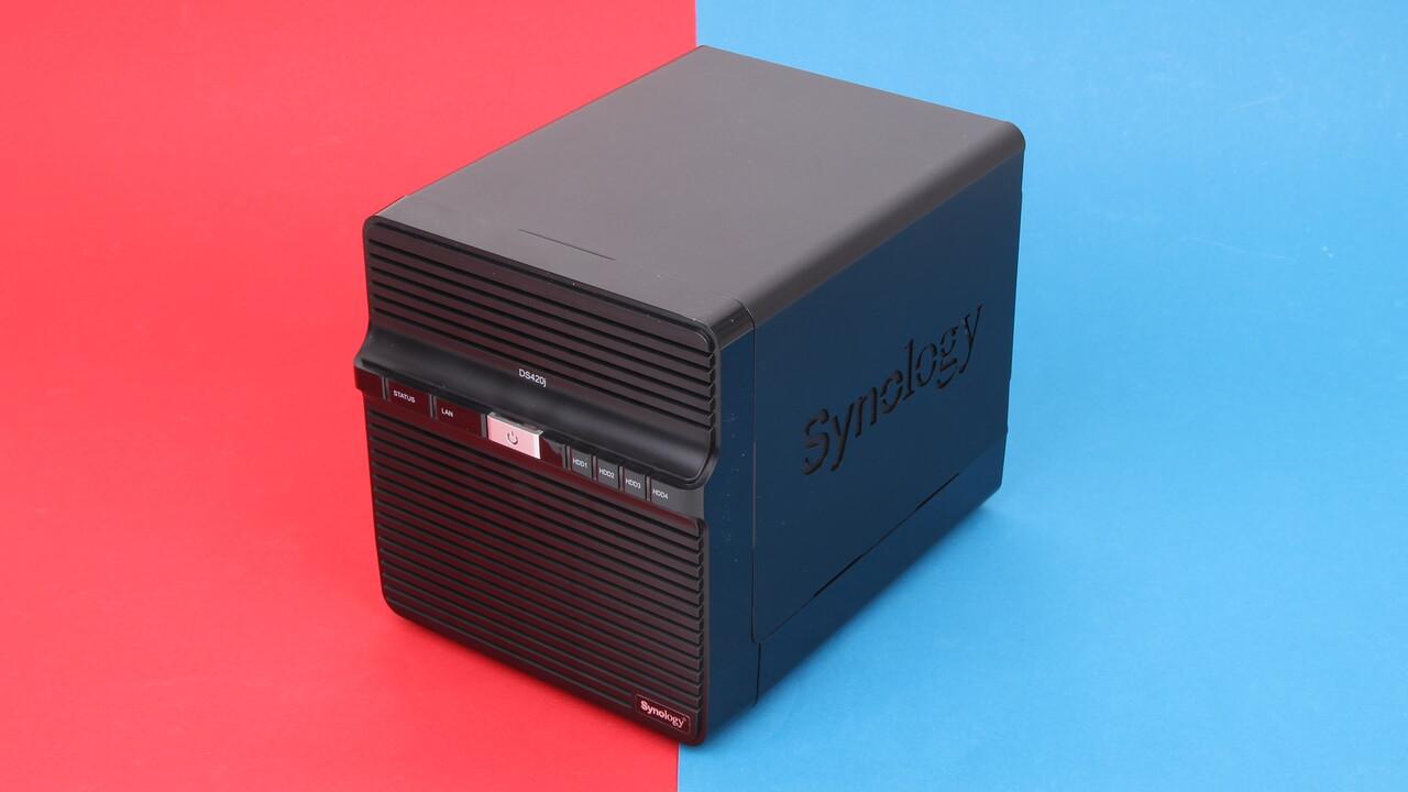 Synology DS420j im Test: Für Neukunden ein fehlerfreies NAS-Einstiegsmodell