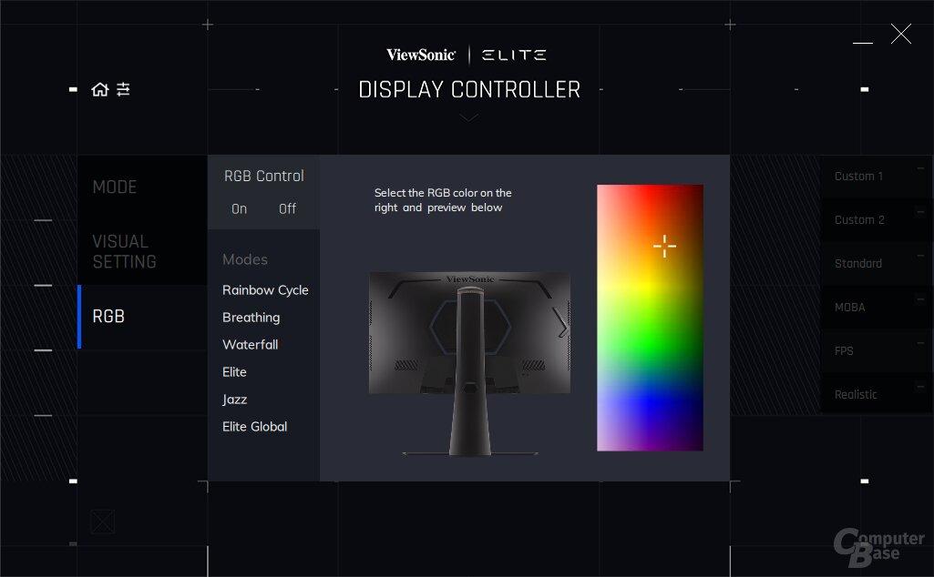 ViewSonic Elite Display Controller