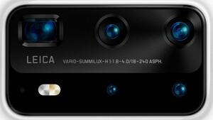 Huawei: P40 Pro hat sieben Kameras mit bis zu 240mm Brennweite