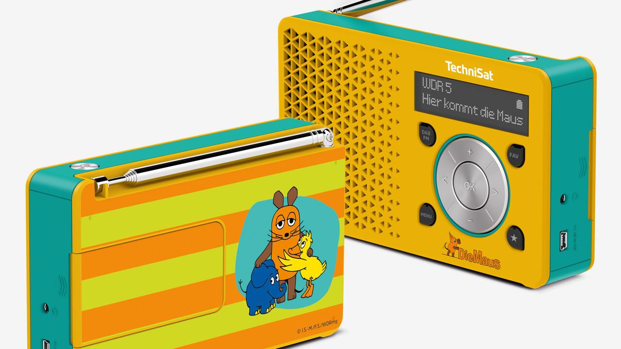 Sendung mit der Maus: TechniSat bringt DAB+-Radio als Sonderedition