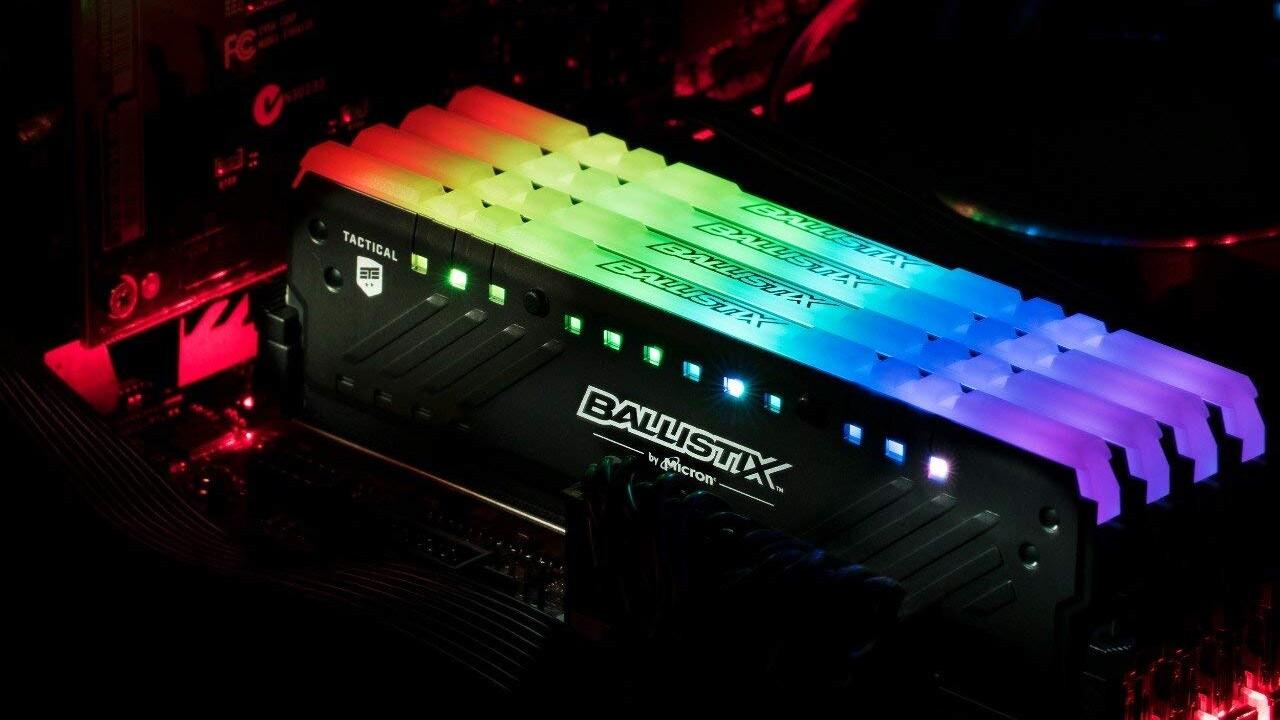 Micron E-Die im Test: Crucial Ballistix Tactical Tracer RGB auf Ryzen 3000