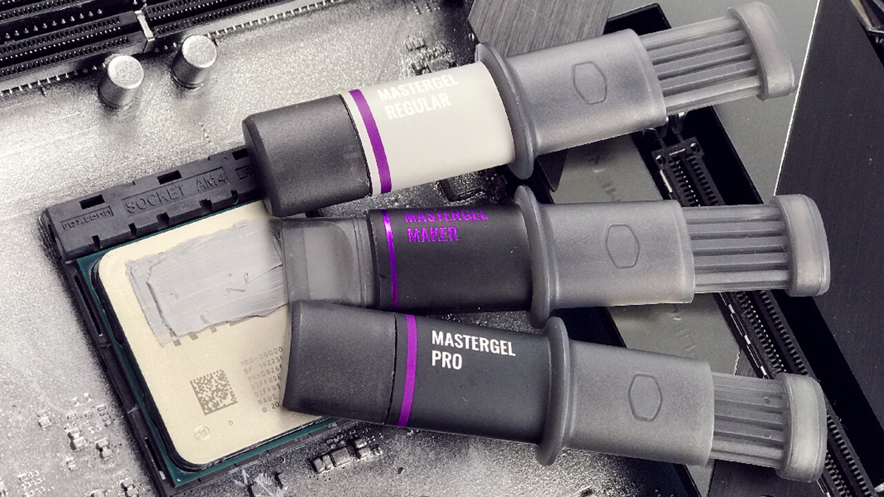 Wärmeleitpasten: Cooler Master optimiert seine Mastergel-Serie