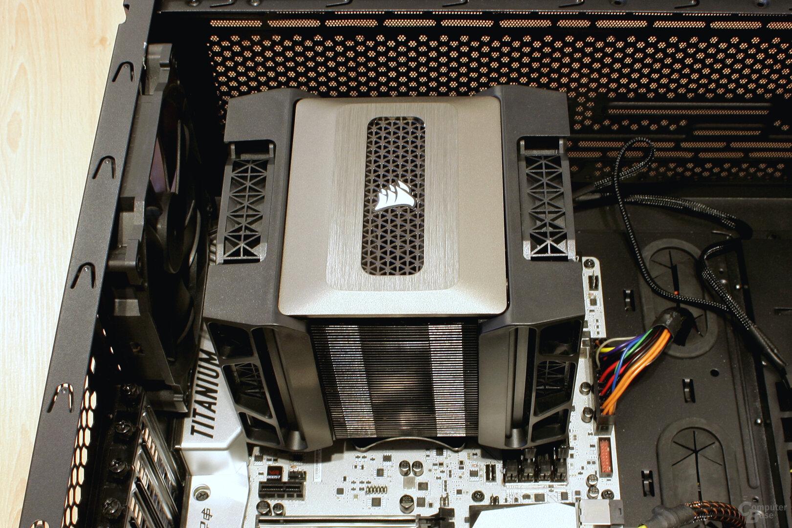 Corsair A500: RAM wird komplett überragt