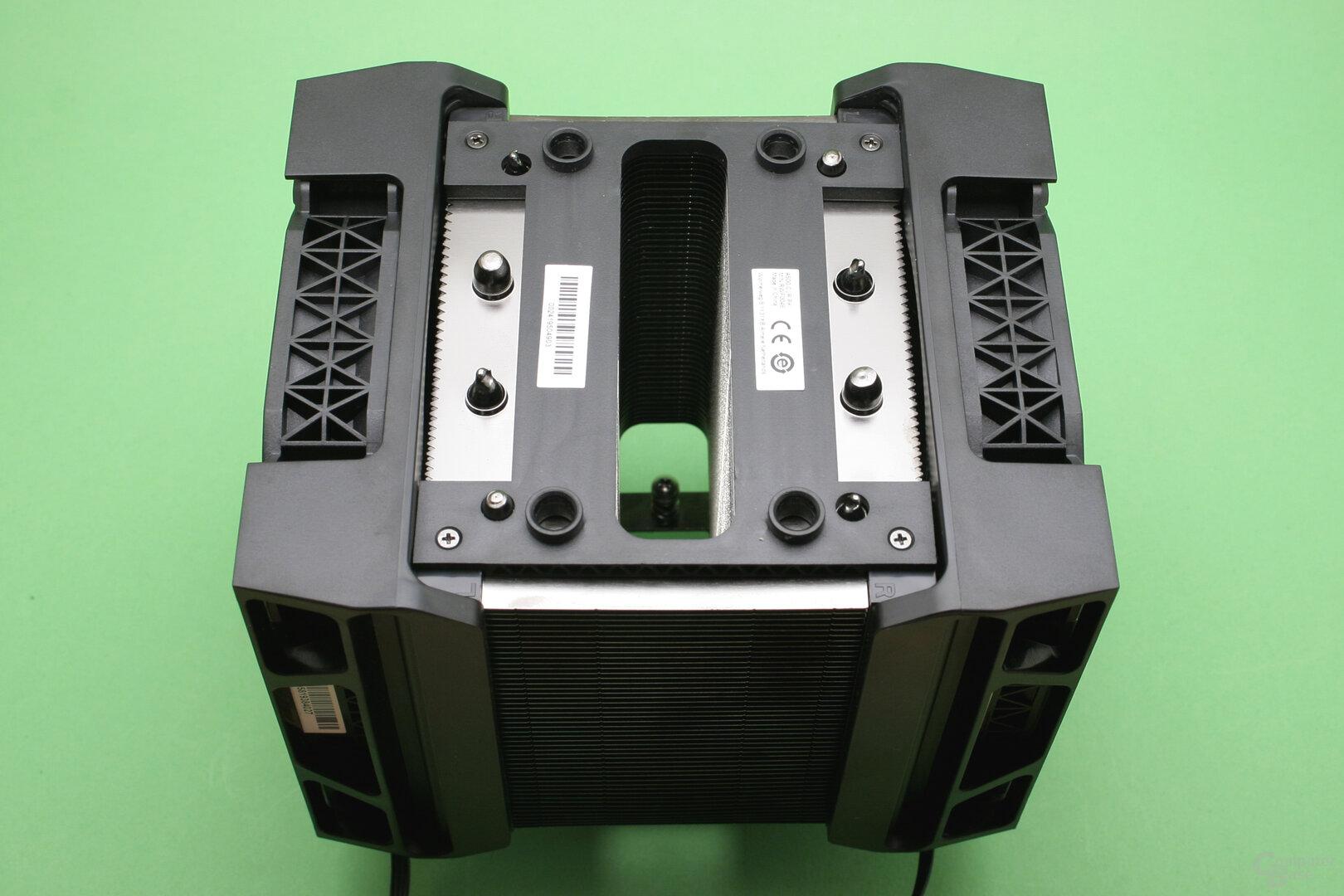 Corsair A500: Die Zierblende kann einfach abgezogen werden
