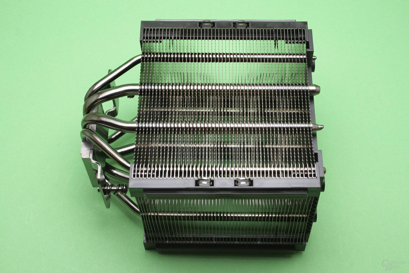 Corsair A500: Nahaufnahme des Kühlturm