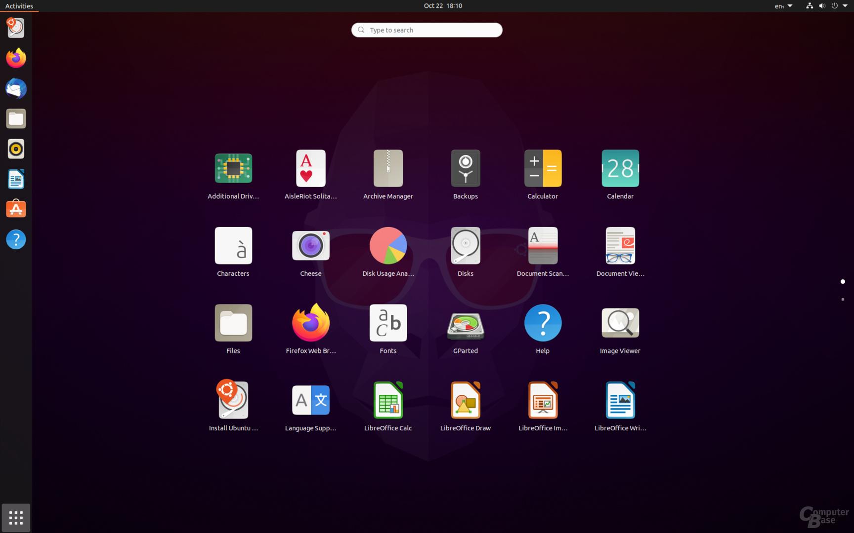 """Ubuntu 20.10 (""""Groovy Gorilla"""") mit Gnome 3.38 (""""Orbis"""") ist sehr einsteigerfreundlich"""