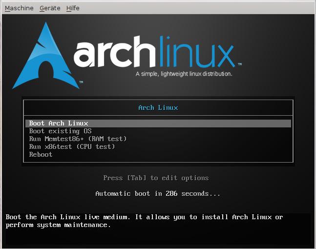 ArchLinux ist oft die erste Wahl von Profis
