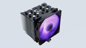 Mugen 5 Black RGB Edition: Scythe frischt den Mugen 5 Rev. B mit RGB-Lüfter auf