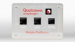 Snapdragon 460, 662, 720G: Qualcomm bringt 8nm, Wi-Fi 6 und NavIC in die Mittelklasse